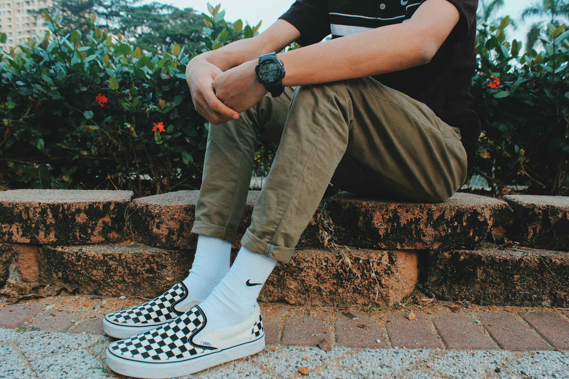 Vans vegan sneakers checkerboard slip ons